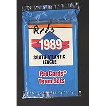 1989 ProCards Minor League Team Set - Greensboro Hornets Reds