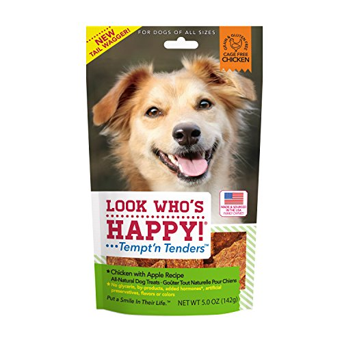 Look Who'S Happy Dog Treats 5 Oz 1 Pouch Chicken And Apple Treat, One Size