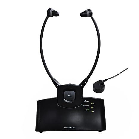Thomson WHP5305BK Senior Cuffia Wireless RF 0f84055afeb5