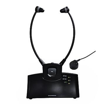 Hama WHP5305BK - Auriculares (Intraaural, Banda para Cuello, 30-15000 Hz,