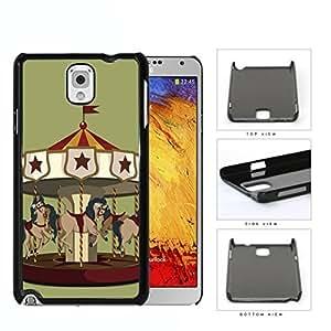 Horse Carousel Amusement Park Ride Hard Plastic Snap On Cell Phone Case Samsung Galaxy Note 3 III N9000 N9002 N9005