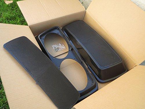 Saddle Bag Speaker Lids - 2
