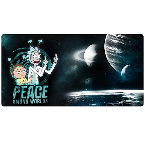 Beymemat Large Gaming Mouse Pad XXL Size (900x400mm) Extended Mouse Mat/Desk Pad with Non-Slip Rubber Base, Special-Textured Surface for Keyboard and Mouse (90x40 rfinger)