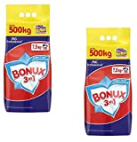 P&G Professional • Bonux Laundry Detergent Powder [European Import] • 200 Wash Loads (2 x 16.5 Pounds)