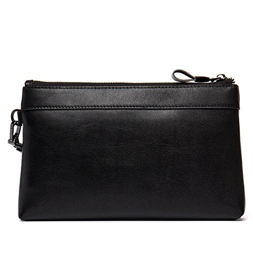 D8098 bag wallet casual layer business cowhide DANJUE Black clutch men's handbag first qZvxxXR