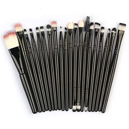 Makeup Brushes Set,Hamoons 20pcs/set Makeup Brush Set tools Make-up Toiletry Kit Wool Make Up Brush Set