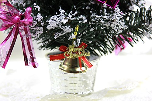 Pcs lot merry christmas bell ornaments multi color