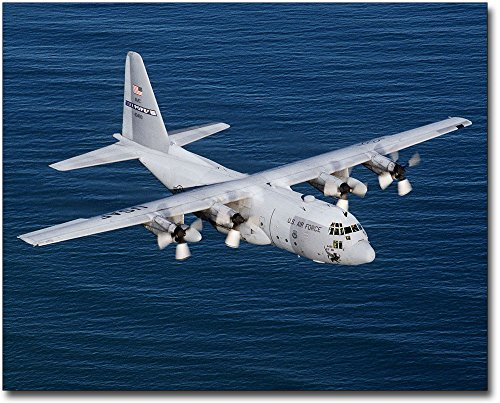 C-130 Hercules 8x10 Silver Halide Photo Print by The McMahan Photo Art Gallery & Archive