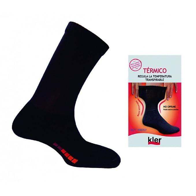 kler 6070 - calcetin termico caballero (UNICA, GRIS)