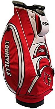 Team Golf NCAA Victory Golf Cart Bag, 10-Way Top with Integrated Dual Handle & External Putter Well, Coole