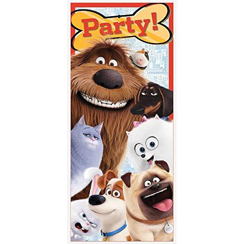Plastic Secret Life Pets Poster