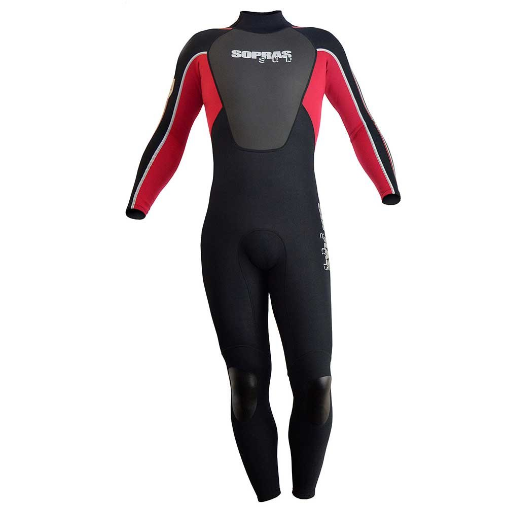Sopras Sub ISIDA Mens 3MM Full Wetsuit Scuba Diving Surfing Freediving Spearfishing Underwater Suit Snorkiling Free Diving Swim Swimming Wet Suit Jumpsuit