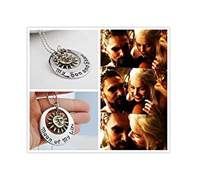 Game of thrones jewelry my sun and stars necklace moon of my life game of thrones jewelry my sun and stars necklace moon of my life necklace aloadofball Image collections