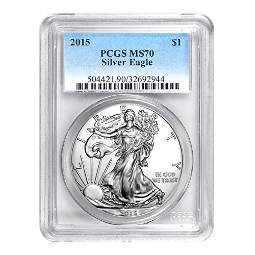 2015 American Silver Eagle ASE $1 MS-70 PCGS