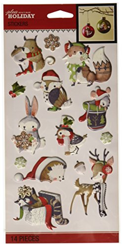 Jolee's Boutique Winter Wonderland Woodland Creatures Stickers