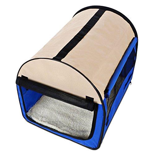 (Gracelove Deluxe Portable Soft Dog Crate,Indoor & Outdoor Pet Home,38 inch)