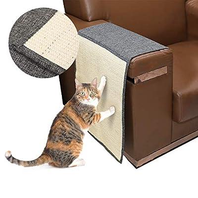 Cat scratching Docamor Cat Scratching Mat Sisal Sofa Shield Pet Furniture Cover... [tag]