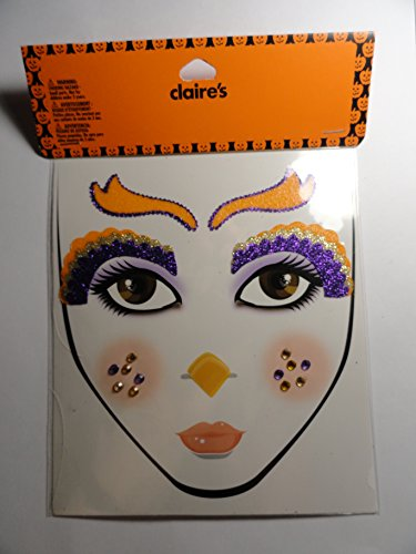 Halloween Glitter Tattoos for the Face]()