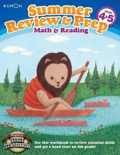 Summer Review & Prep: 4-5 by Kumon (2012) Paperback