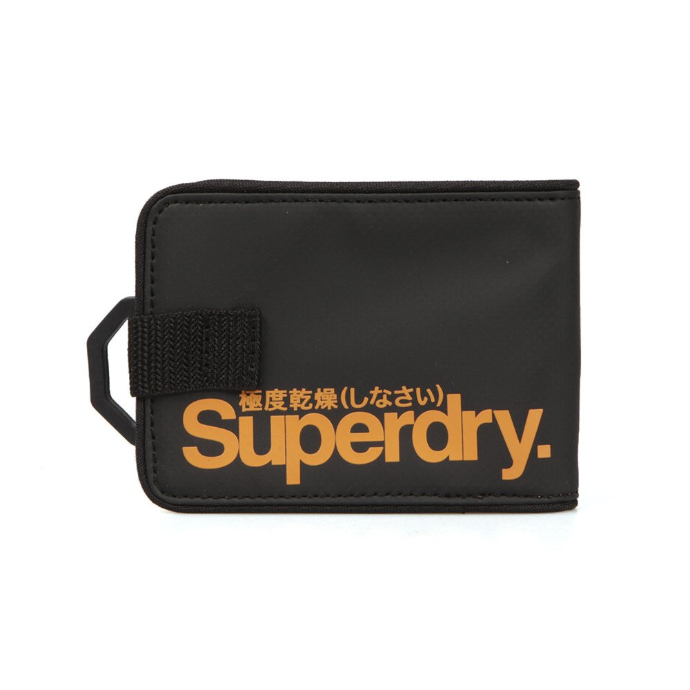 meilleur service 707d1 a64fd Superdry Herren s Tarp Portemonnaie, schwarz/Orange: Amazon ...