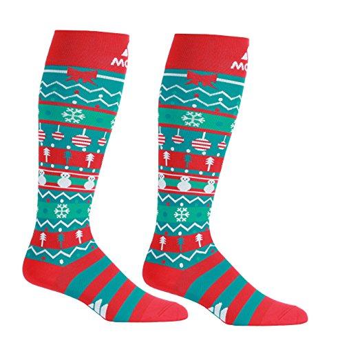 Amazon.com: Christmas Compression Socks – Graduated Compression Stockings - Firm Support 20-30mmHg - Mojo Compression Socks - Size Medium: Health & Personal ...