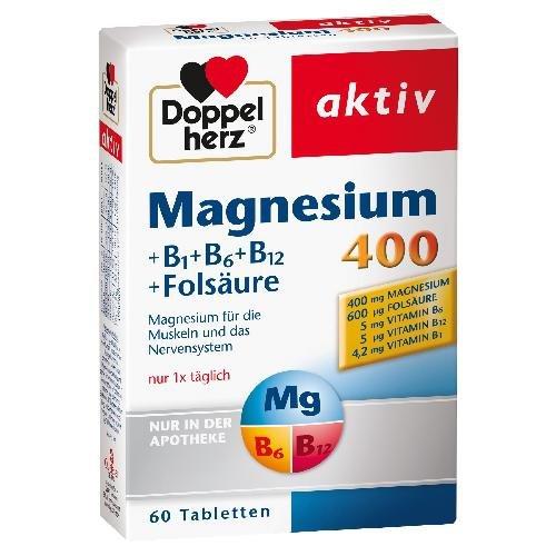 DOPPELHERZ MAGNESIUM 400MG 60St Tabletten PZN:7625045
