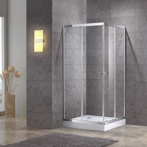 (BHBL 35 x 35 in Corner Shower Doors Shower Enclosure 1/4