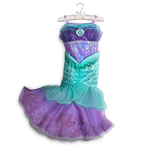Disney Ariel Dress (Disney Ariel Costume for Kids Size 9/10 Green)