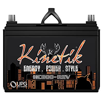Kinetik HC800-REV 800 Watt 12V Car Battery/Power Cell High Current With Advanced AGM Technology
