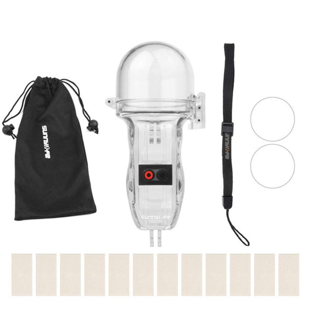 Kamera-Zubeh/ör Kamera Tauchen Shell kompatibel f/ür DJI OSMO Pocket Sport Kamera wasserdichte Schutzh/ülle