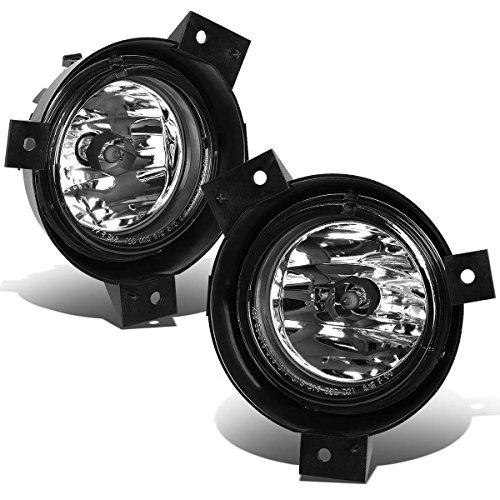 For 01-03 Ford Ranger Pickup Pair of Bumper Driving Fog Lights (Clear Lens)