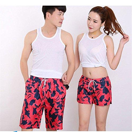 O-C Womens'beach shorts summer beach pants X-Large