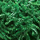 Green Crinkle Cut Paper Shred 10 lbs/Case