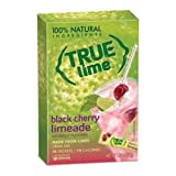 True Lime Black Cherry Limeade Drink Mix, 0.106 Ounce - 10 per pack -- 12 packs per case.