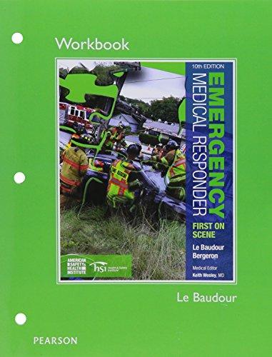 Emergency Medical Responder Workbook