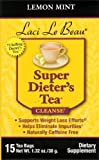 Laci Super Dieters Tea, Lemon Mint 15 Bags (Pack of 4)