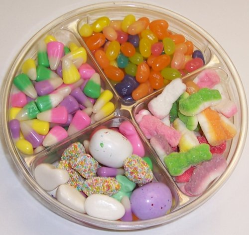 Scott's Cakes 4-Pack Spring Mix Jelly Beans, Chocolate Malt