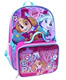 "Nickelodeon Girls Paw Patrol School Backpack and Lunch Bag Set, 16"" x 10"" x 6"""
