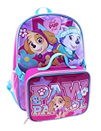"Paw Patrol ""Best Pup Pals"" Backpack with Lunchbox - pink, one size"