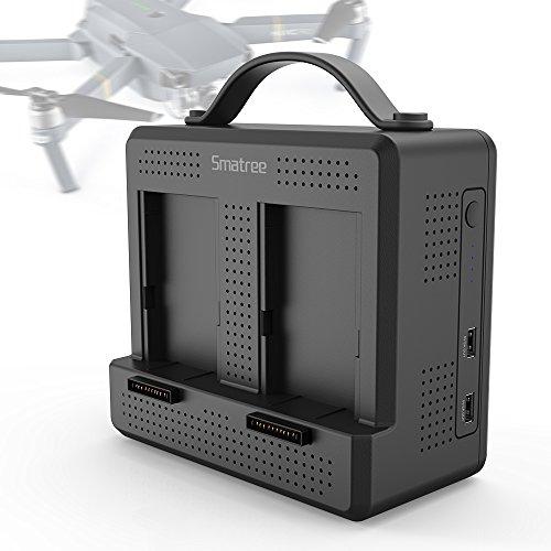 Smatree Mavic Pro Portable Charging Station Compatible for DJI Mavic Pro/DJI Mavic Platinum Drone Intelligent Flight Battery(Not for Mavic 2 pro/Mavic 2 Zoom)