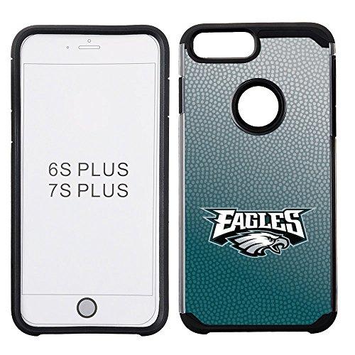 NFL Philadelphia Eagles Gradient Football Pebble Grain Feel iPhone 7 Plus Case