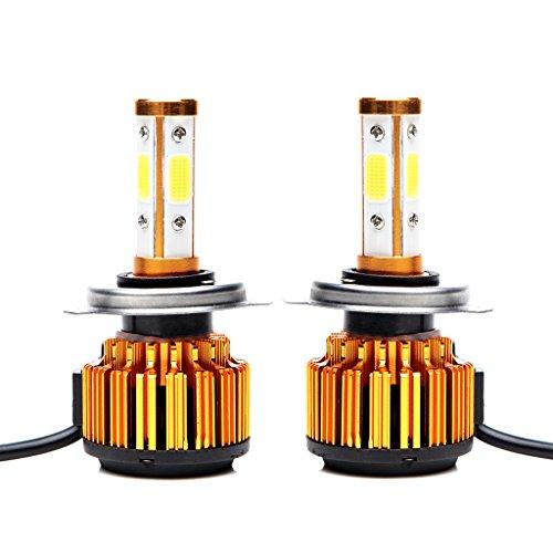 H4 9003 HB2 Car Headlight Bulbs LED Lamp High Low Double Beam Conversion 20000LM 200W