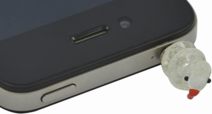 3.5 mm Colored Glaze anti polvere presa cuffie per iPhone
