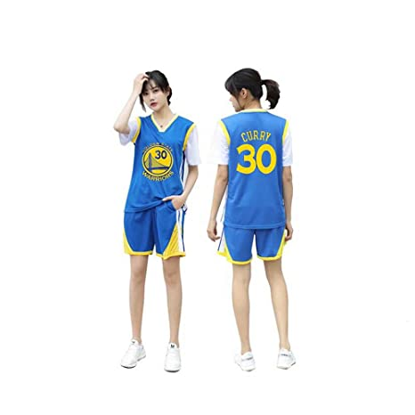 YIZHEN Uniforme de Baloncesto Femenino,Golden State Warriors Curry ...