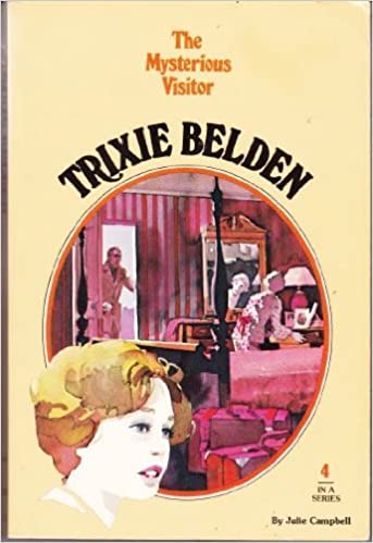 Book The Mysterious Visitor,Book 4 (Trixie Belden)