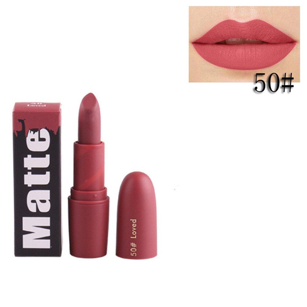 Rouge à lèvres,Lonshell Hydratant à lèvres lisses à long terme 18 Couleurs (Taille unique, 45#)
