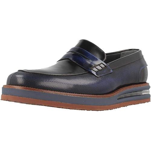 Mocasines para Hombre, Color Azul, Marca ANGEL INFANTES, Modelo Mocasines para Hombre ANGEL INFANTES 27101 Azul: Amazon.es: Zapatos y complementos
