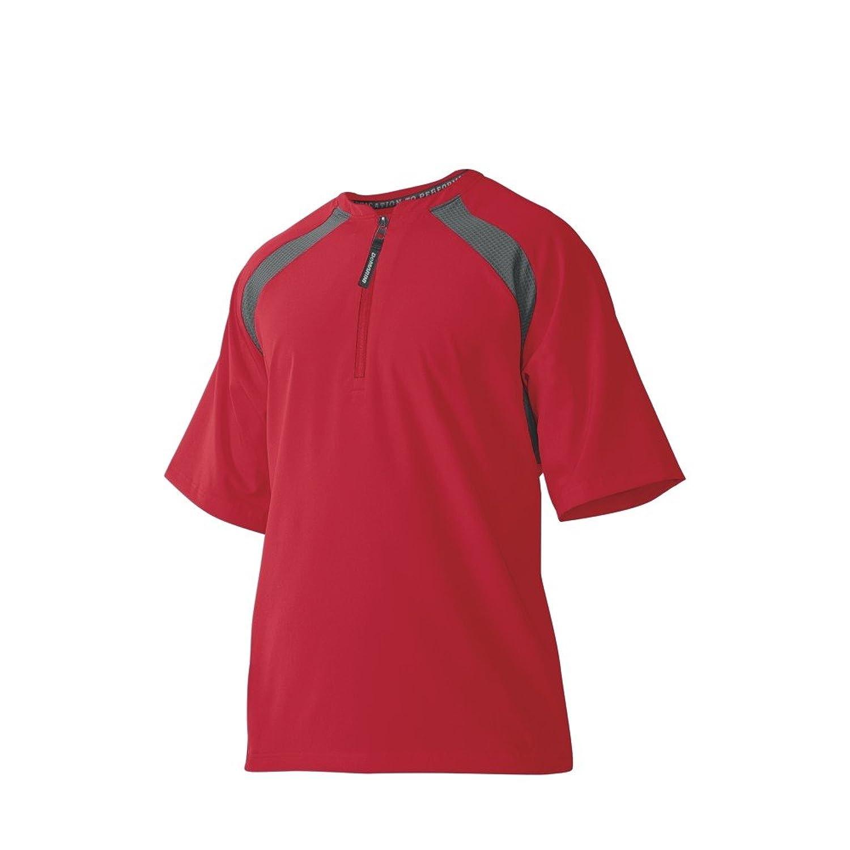 ウイルソン ディマリニ(DeMARINI) 半袖BPジャケット(Mサイズ) WTD9555SCM スカ-レット M【Mens】 B00LO9R0HC