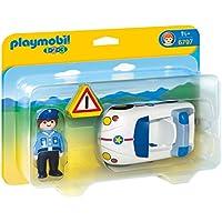 PLAYMOBIL Police Car Vehicle Set