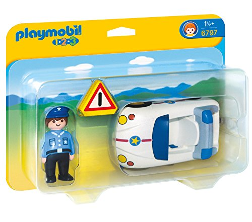 PLAYMOBIL® 1.2.3 Police Car Vehicle